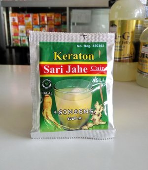 Keraton Sari Jahe Cair