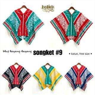 Blus Layang Layang Songket #9