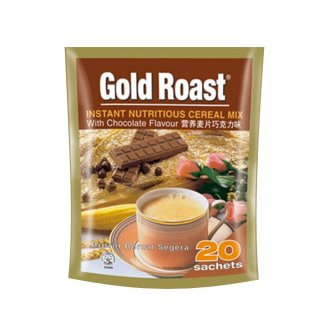 Gold Roast Instant Nutritious Cereal Mix with Chocolate Flavour