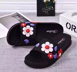 CLB Sandal Selop Wanita Bunga