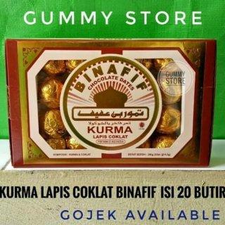 Bin Afif Chocolate Dates Kurma Lapis Coklat