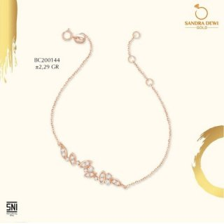 Gelang Sandra Dewi Gold K-Style Park Collection BC200144