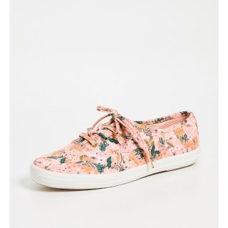 Keds X Rifle Paper Co Pink