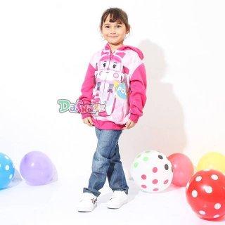 Jaket Anak Perempuan Amber Poli Sweet Printing Pink
