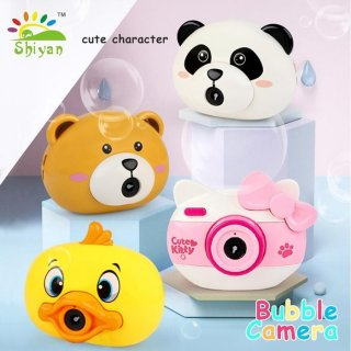 Mainan Bubble Elektrik Bentuk Kamera