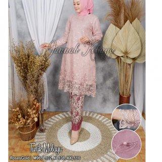 Jan Set Kebaya Tunik Melayu