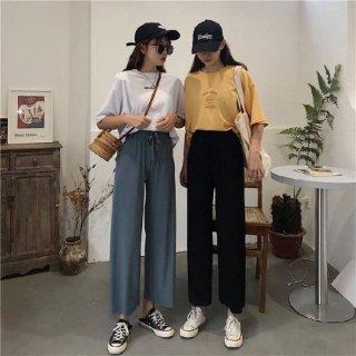 Celana Panjang High Waist Wanita Style Korea