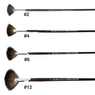 V-Tec Fan Brush 601-RC Long Handle