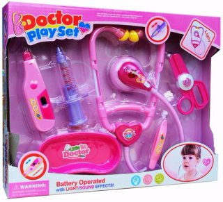 Doctor Play Set Pink Mainan Anak Perempuan
