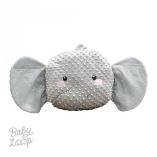Elephant Balmut Minky - Bantal Selimut - Baby Loop