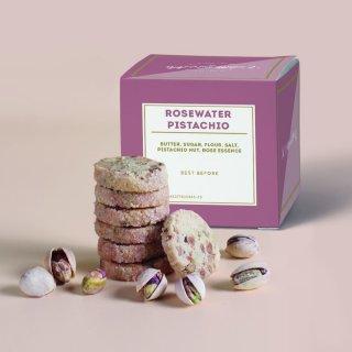 Rosewater Pistachio Cookies