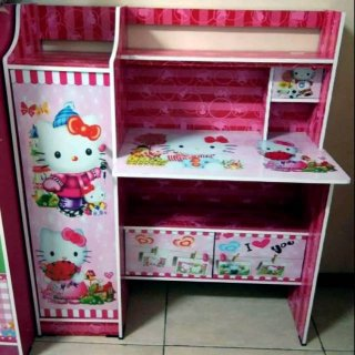 Meja Belajar MB 006 HK Hello Kitty