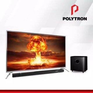 LED POLYTRON 55 INCH 4K ULTRA HD FRAMELESS PLD 55BU8850