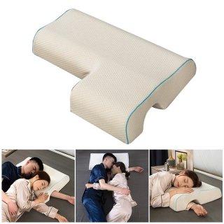 24. Bantal Couple Peluk Pasangan Tidur Memory Foam