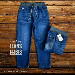 Celana Panjang Jeans Anak Wisker 246/81012/141618 1-9 Tahun