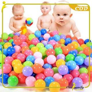 ONE-M28 Mainan Mandi Bola Plastik Warna Warni SNI Isi 50PCS
