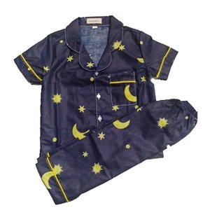 Piyama Anak Little Starmoon Navy Usia 1-12 Tahun