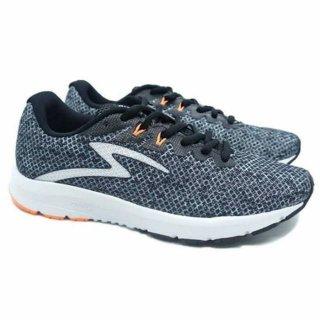 Sepatu Running Specs RoadKing III - Black Graffity/White