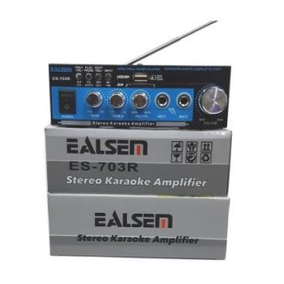 Ealsem ES 703 Mini Amplifier (SD/ USB/ FM)