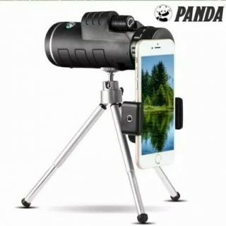 Teropong Panda 40x60 Zoom Monocular Waterproof