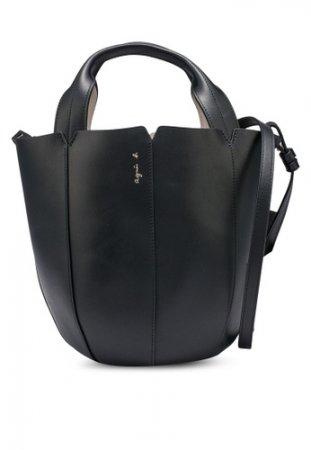 Agnes B Colourblock Petal Crossbody Bag