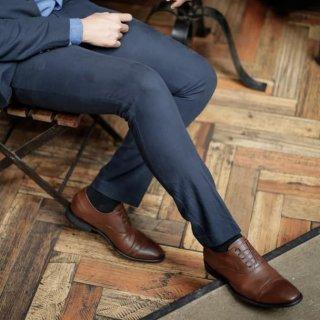 Sepatu Kulit Jackwell Marc Oxford Brown 0303