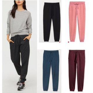 HM Sweatpants Celana Jogger Unisex Pria Wanita