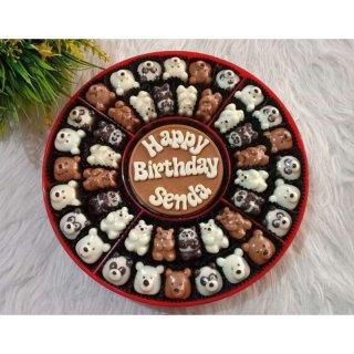 Candy Tray Coklat Karakter Ucapan Hadiah
