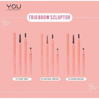 The Simplicity Trio Brow Sculptor by Y.O.U