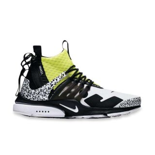 Sepatu Lari - Nike Air Presto Mid Acronym Dynamic Yellow