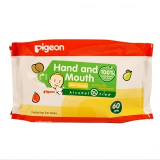 Pigeon Wipes Hand and Mouth
