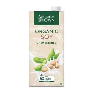 Australia's Own Organic Unsweetened Soy Milk