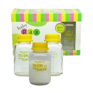 Baby Pax Botol ASI (3 pcs/Kaca)