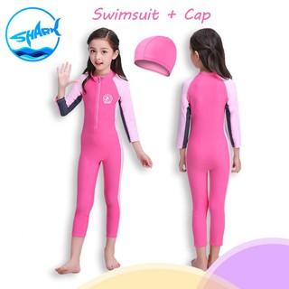 Baju Renang Anak Perempuan Tabir Surya UV UPF50