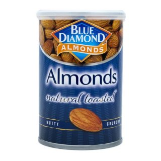 Blue Diamond Almonds Natural Toasted Unsalted
