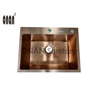 Onan Kitchen Sink 6045 Maroon Gold