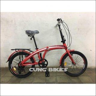 Sepeda Lipat Anak Exotic