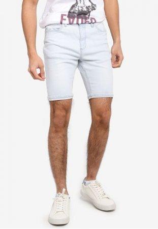 Factorie Tapered Denim Shorts