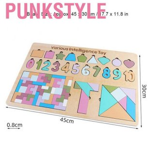 Mainan 5 in 1 Puzzle Angka