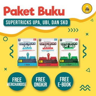 Paket 3 Buku Supertricks SPMB PKN STAN 2021