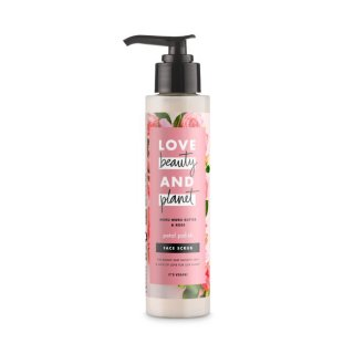 Love Beauty & Planet Murumuru Butter & Rose Face Scrub
