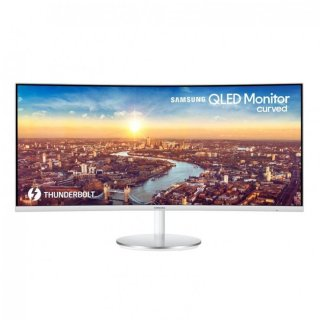 """Samsung 34"""" Curved QLED Monitor LC34J791"""