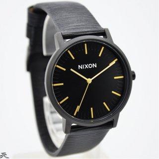Nixon Porter Leather Watch A10582987