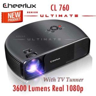 Cheerlux CL760 Ultimate 3600 Lumens TV Tuner