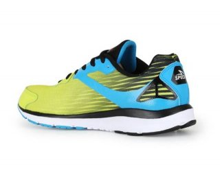 Sepatu Running Specs Road King - Toxic Green/Rock Blue