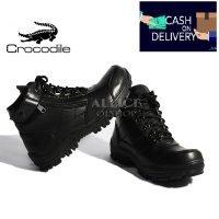 Sepatu Safety Boots Crocodile Zipper Morisey