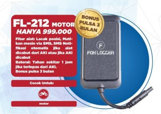 GPS Tracker Foxlogger FL212