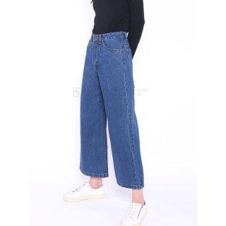 ori 3 warna celana panjang highwaist hw kulot jeans