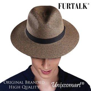 Furtalk SH040 Fedora Panama Hat Topi Jazz Tompi Cowboy