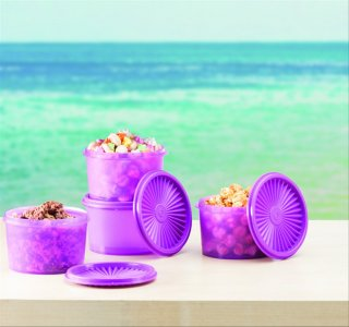 Tupperware Mini Deco Canister 600 ml